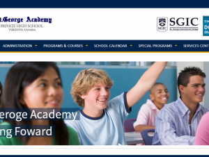 St.George Academy website